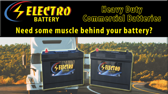 Commercial Batteries by Electro Battery